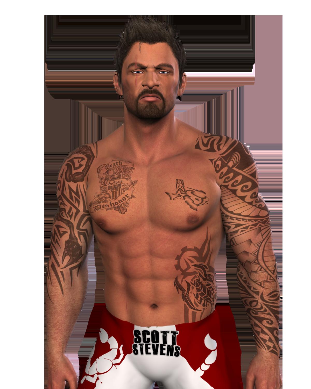 Scott Stevens Bodyshot