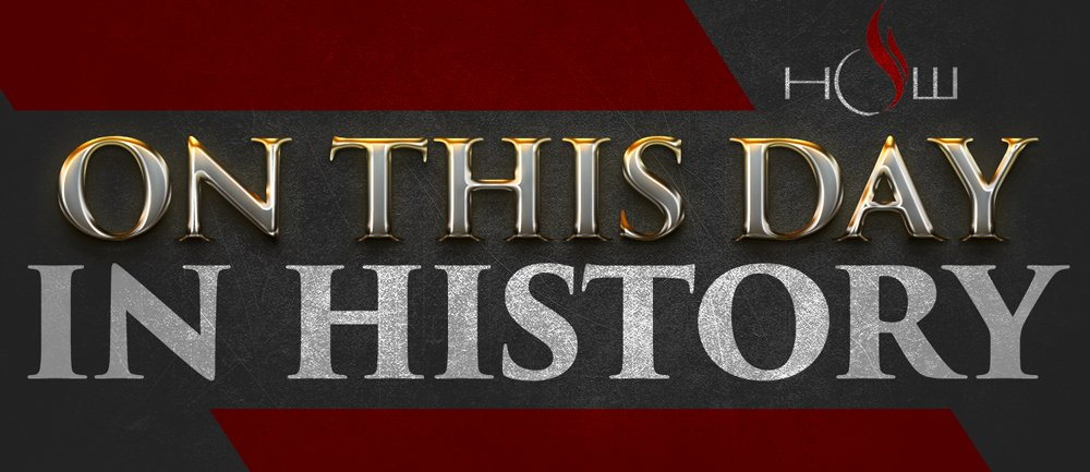 On This Day in HOW History…….