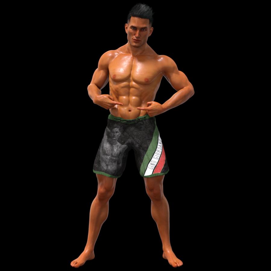 Gino Giordano Bodyshot